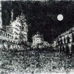 Folla in Piazza del Duomo